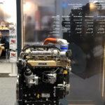 Выставка сельхозтехники фото двигателя KDI-TCQ1903