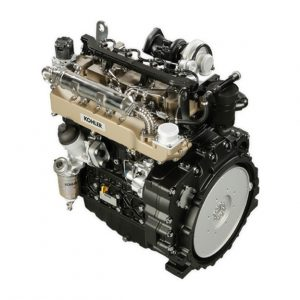 KDI 3404TCR-SCR Diesel engine Kohler and Lombardini